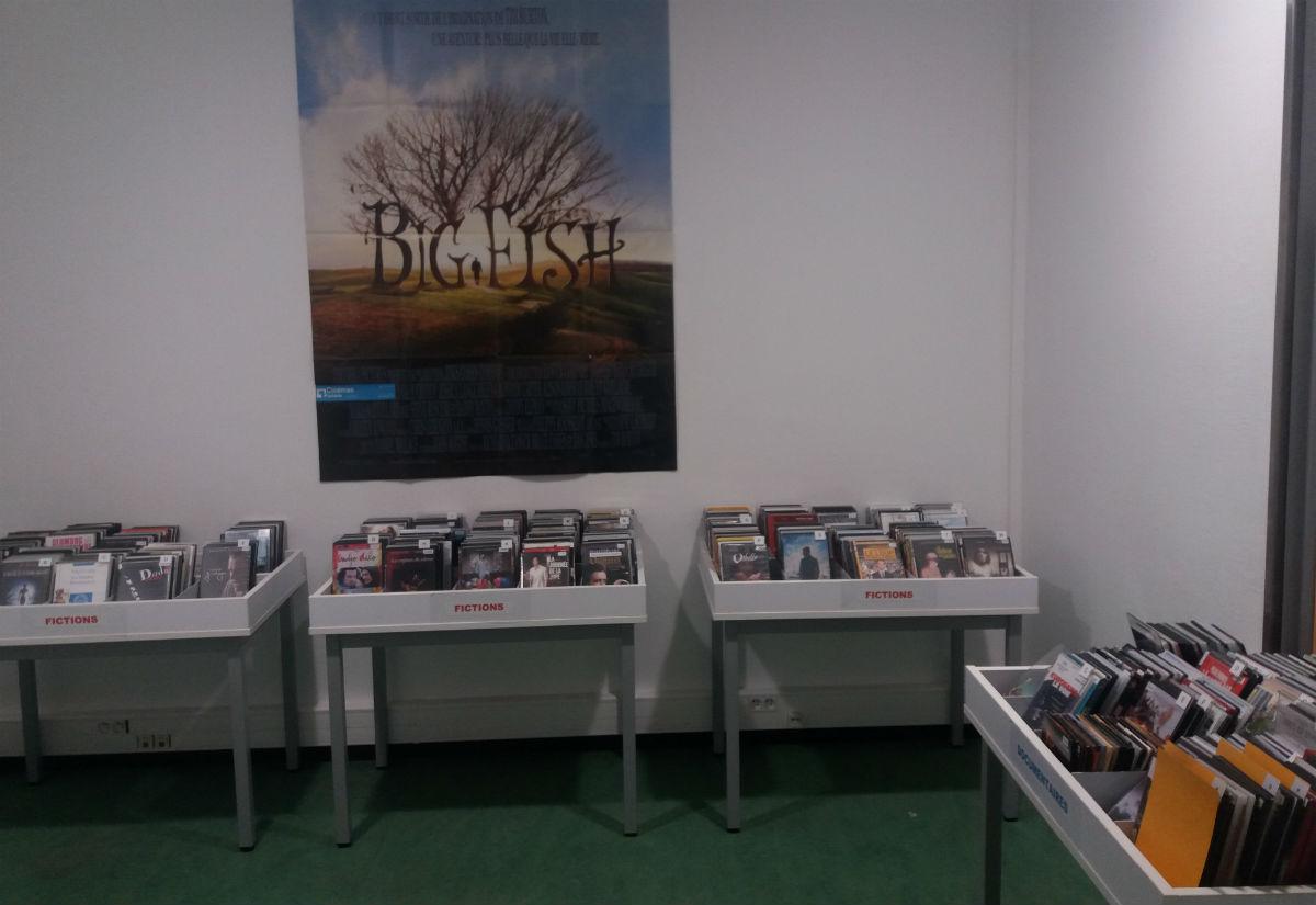 Espace DVD du Campus Centre