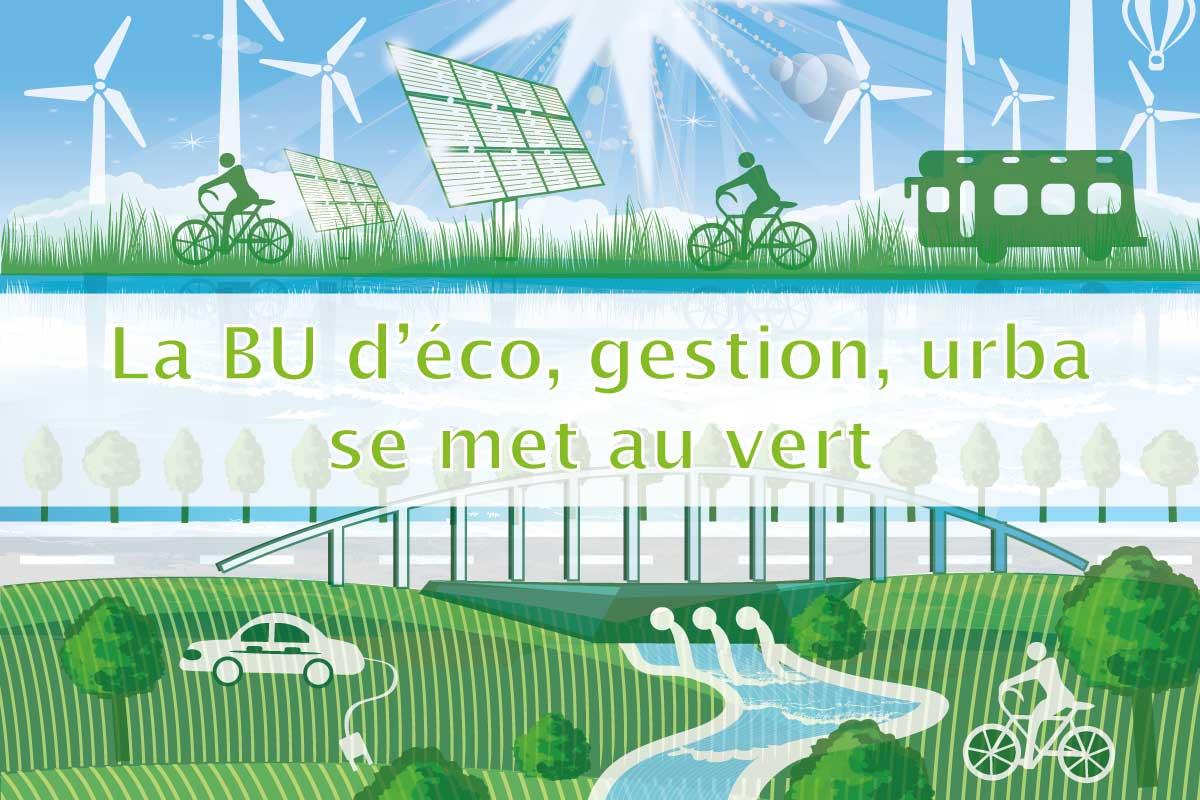 Zoom sur l'écologie en économie, gestion et urbanisme