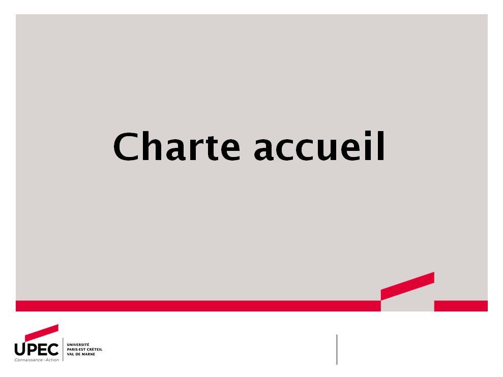 charte accueil