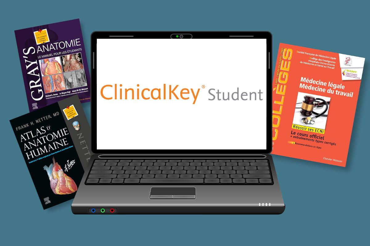 Ebooks sur ClinicalKey Student