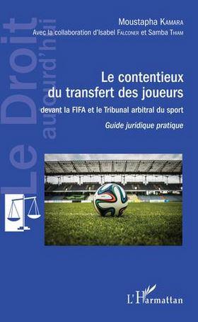 Couverture du livre Contentieux du transfert des joueurs