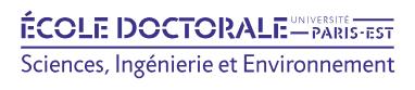 Ecole doctorale SIE