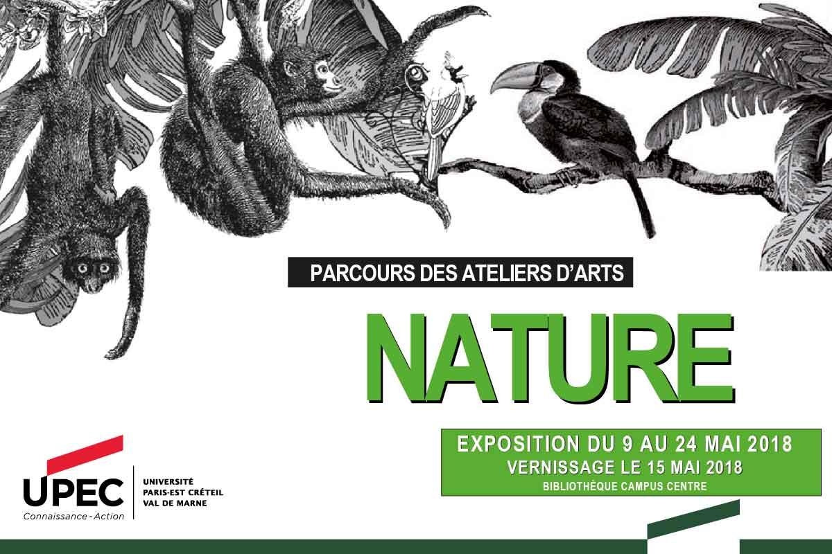 Nature, une exposition des artistes en herbe de l'université