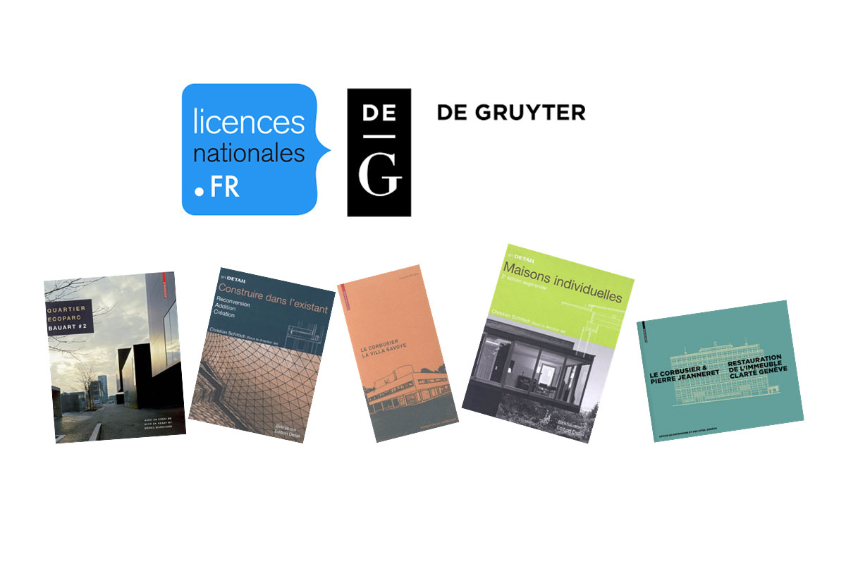 De Gruyter ebooks : une nouvelle licence nationale ISTEX