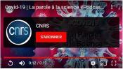 Podcast CNRS