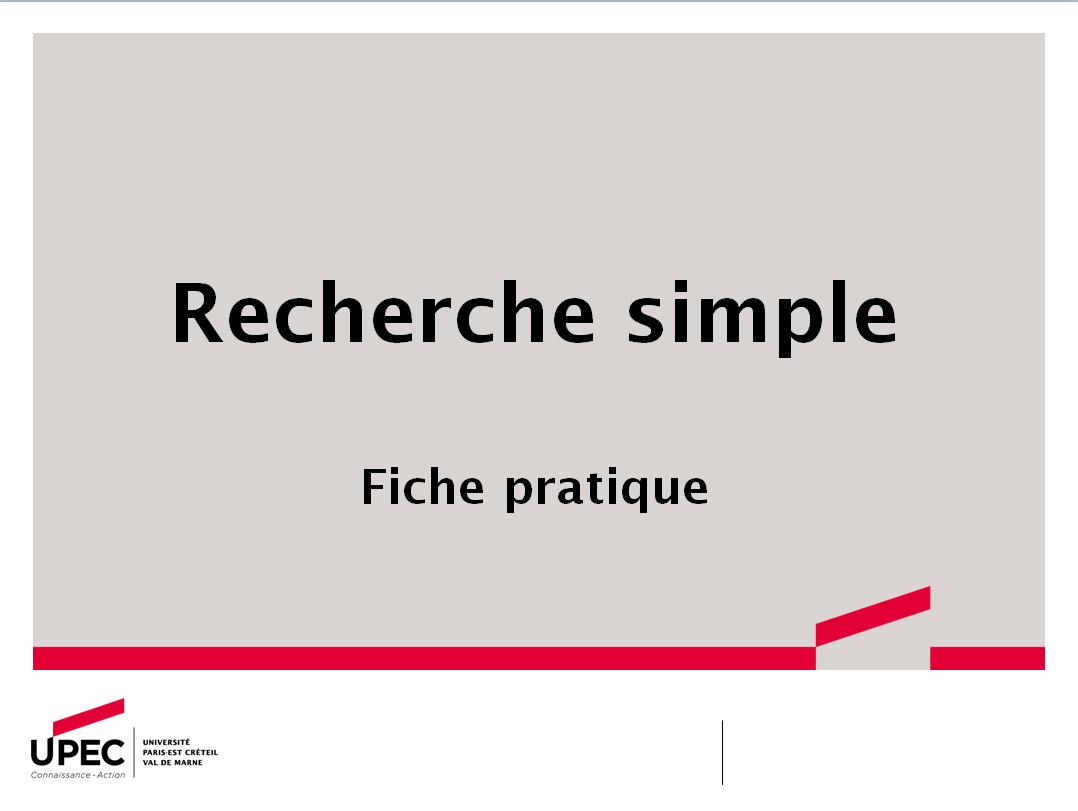 Recherche simple_fiche pratique